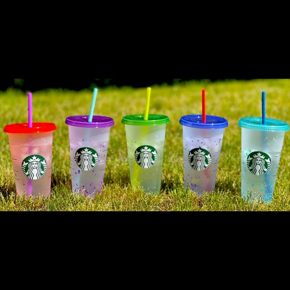 🎉Brand NEW Starbucks CONFETTI COLOR CHANGING CUP